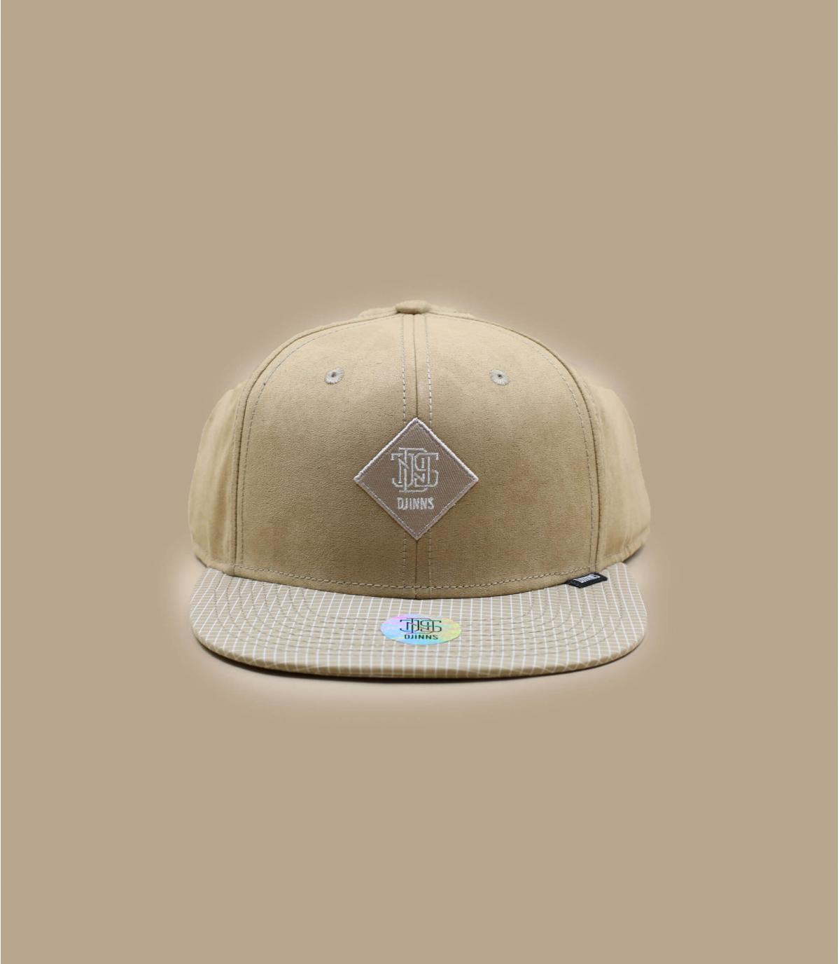 casquette beige velours Djinns