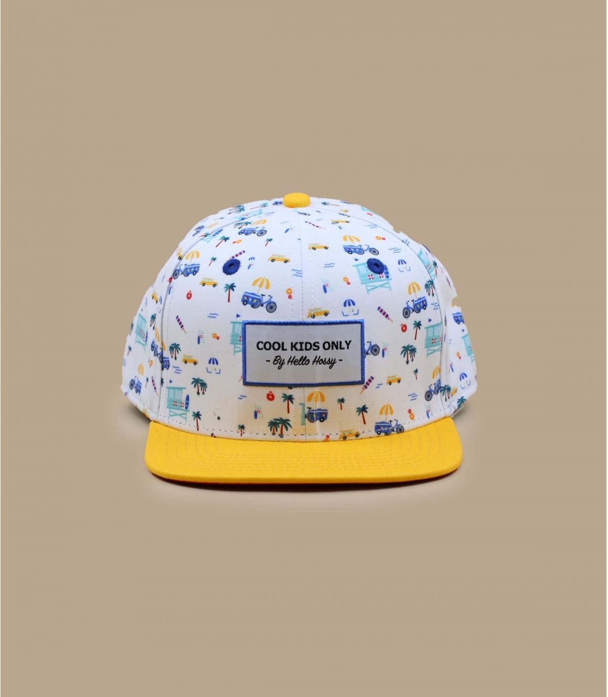 casquette enfant jaune