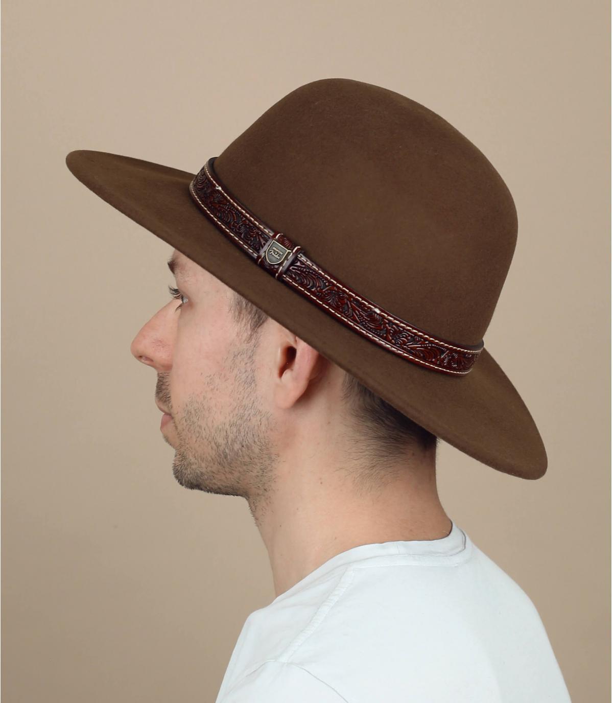 chapeau velours Brixton x Fender