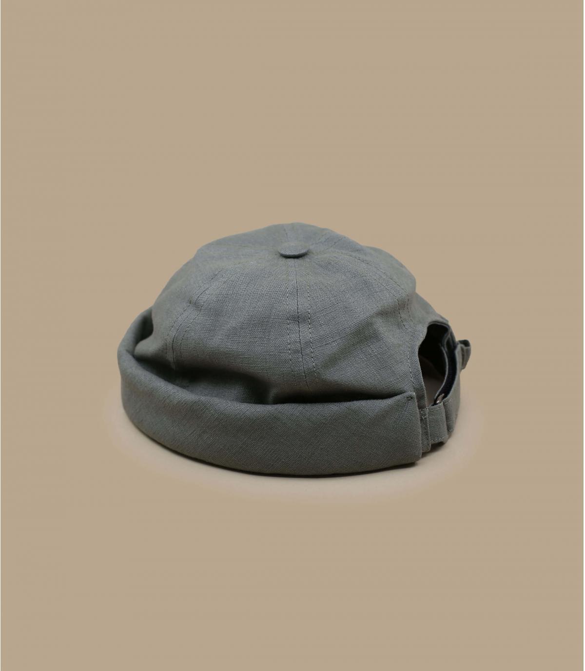 Bonnet docker lin vert
