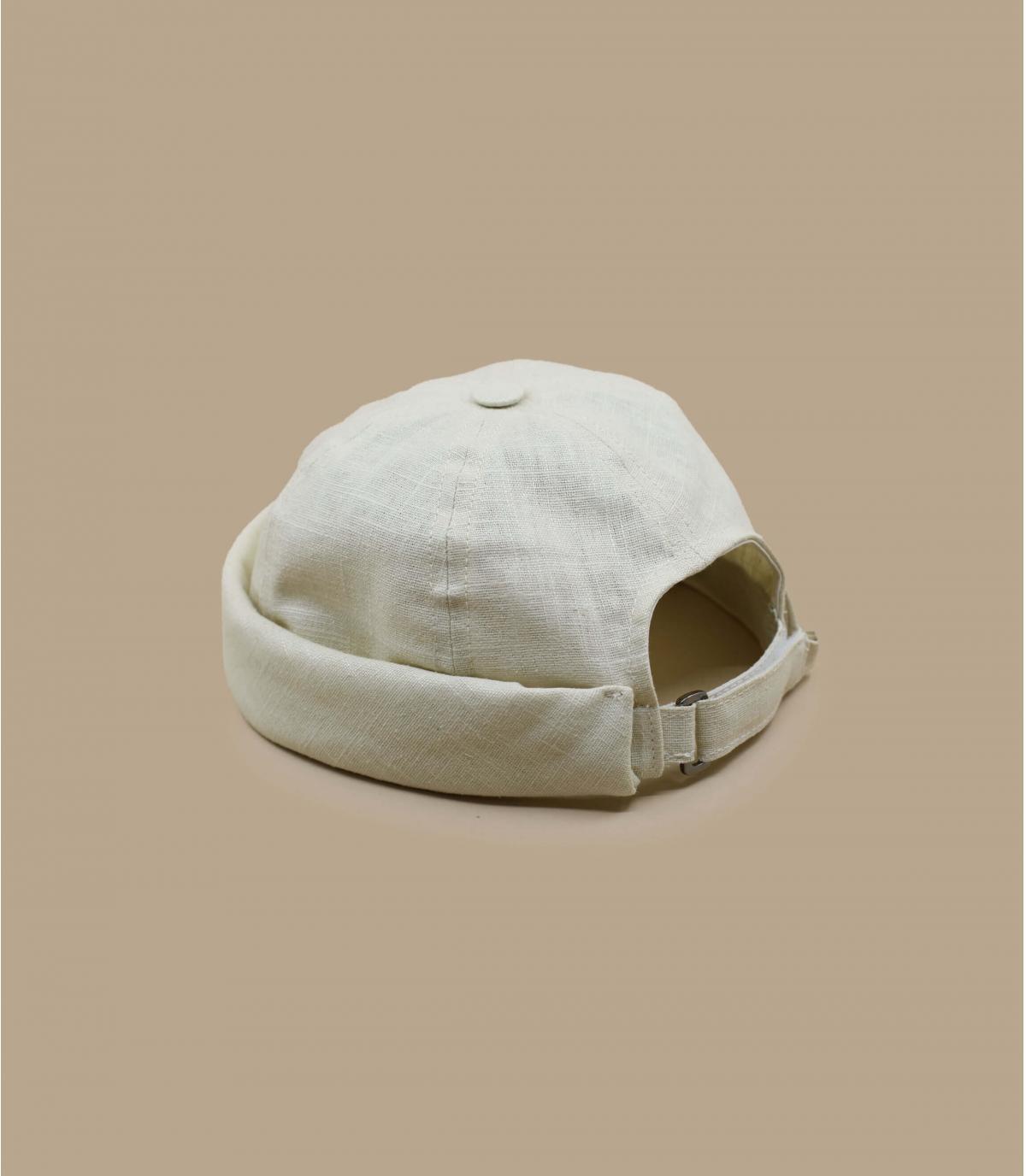 bonnet docker lin beige