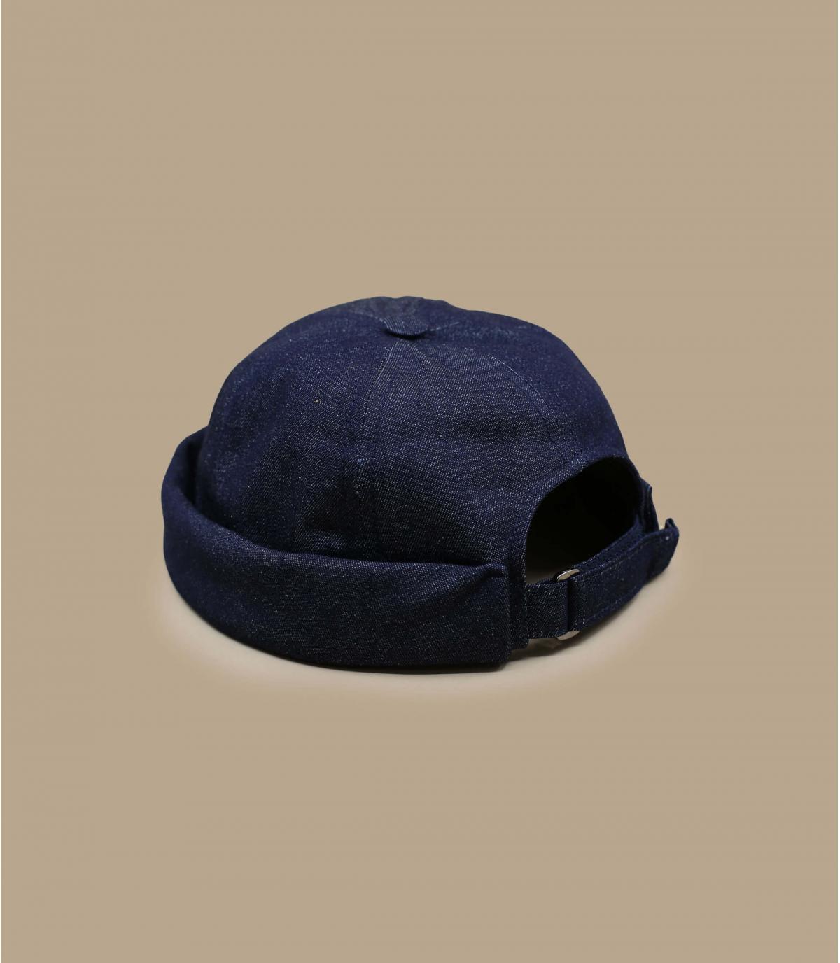 bonnet docker coton bleu