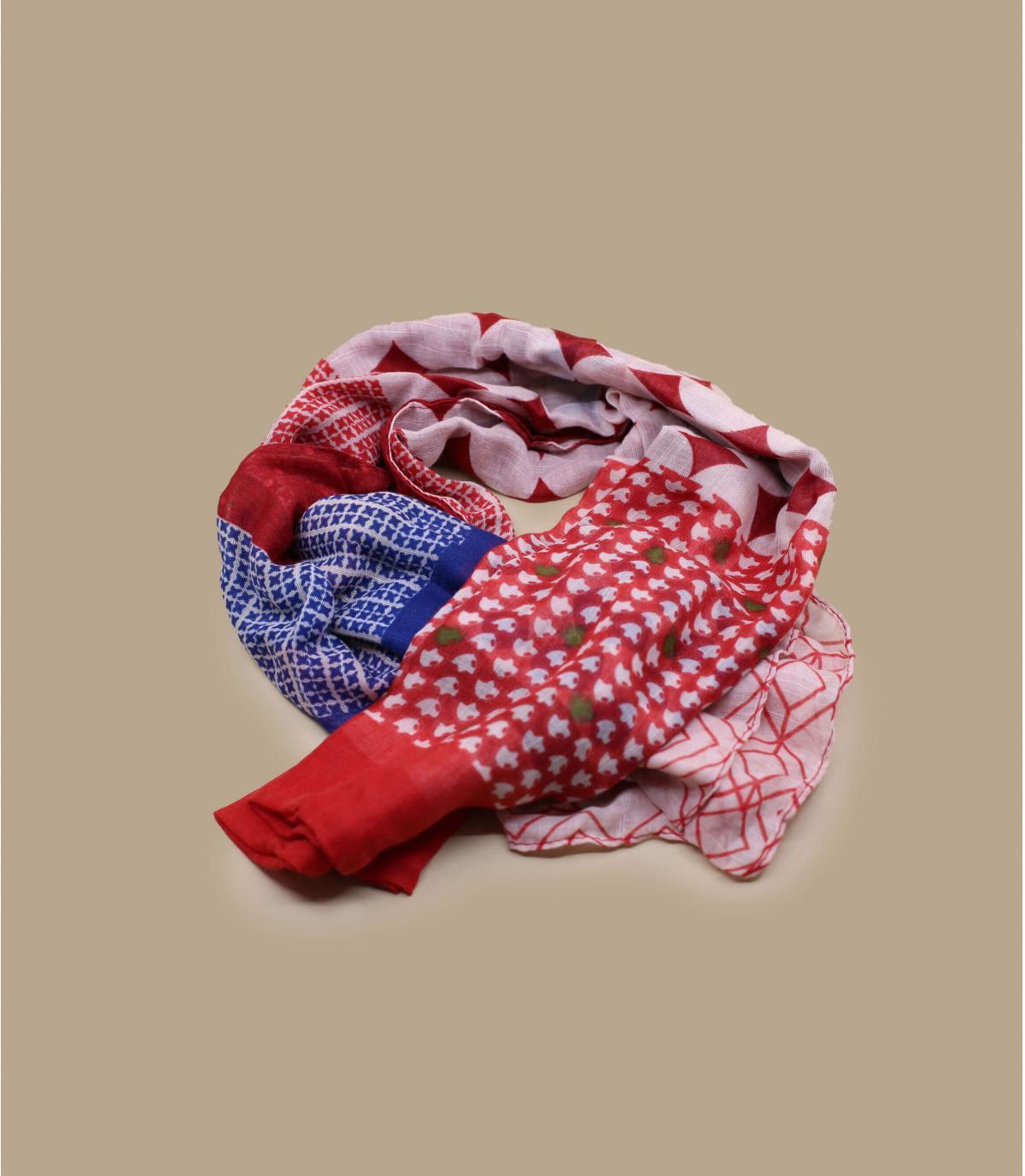 Détails Foulard rouge - image 2