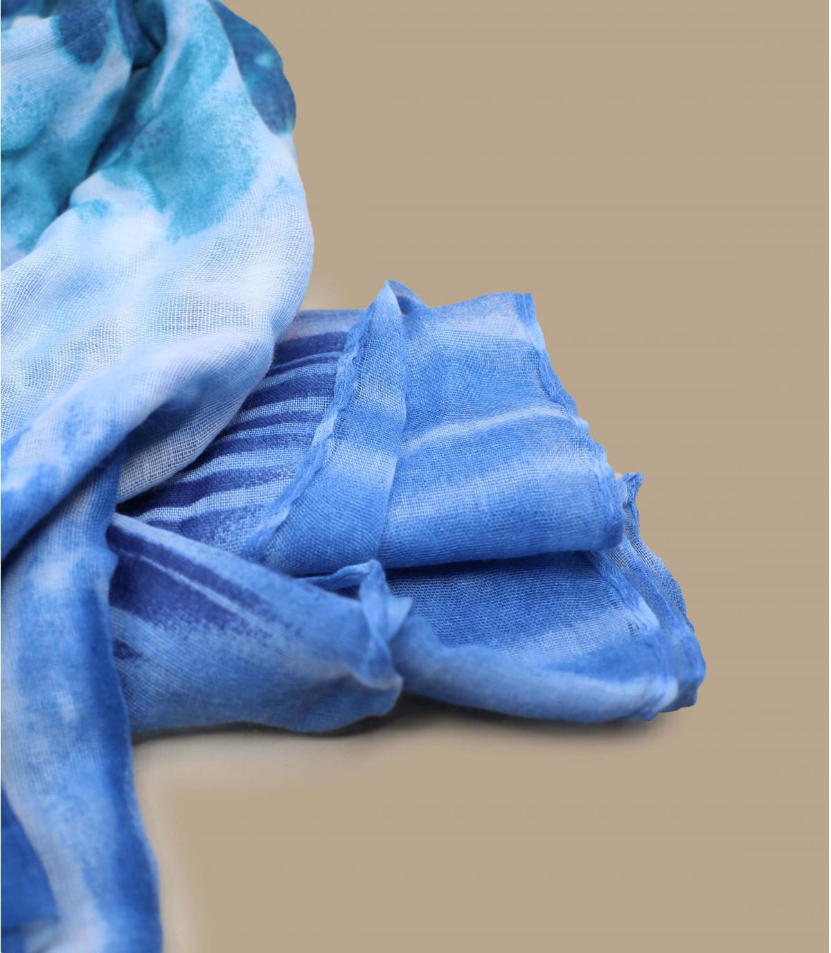 Détails Foulard bleue - image 3