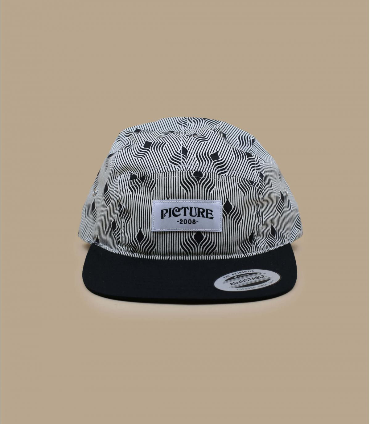 5 panel Picture gris