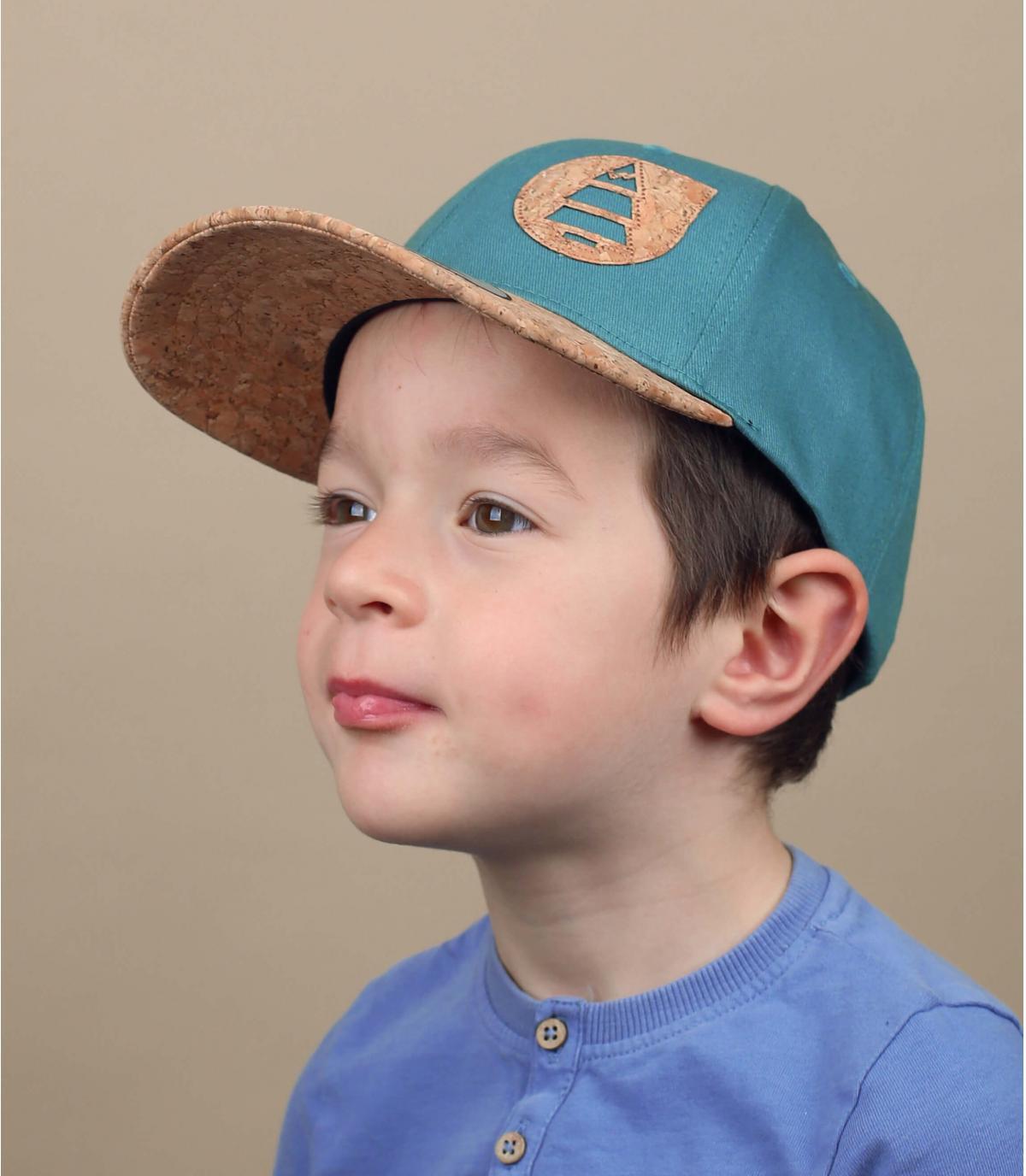 casquette Picture enfant bleu