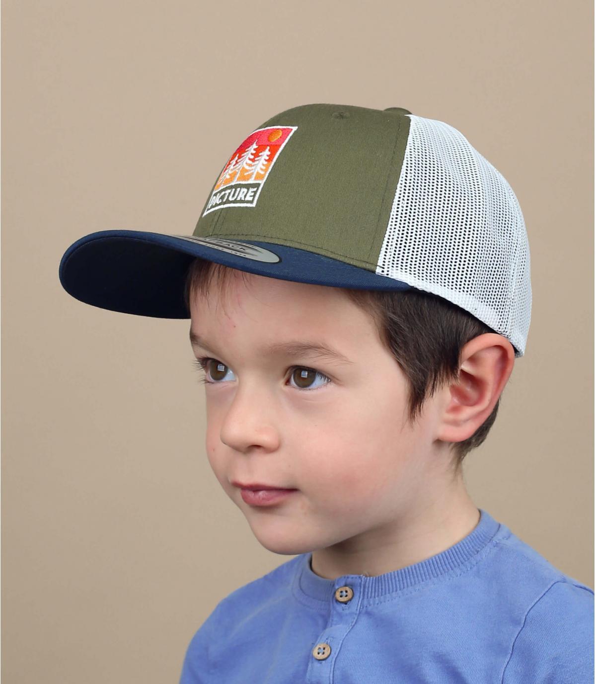 trucker enfant Picture vert