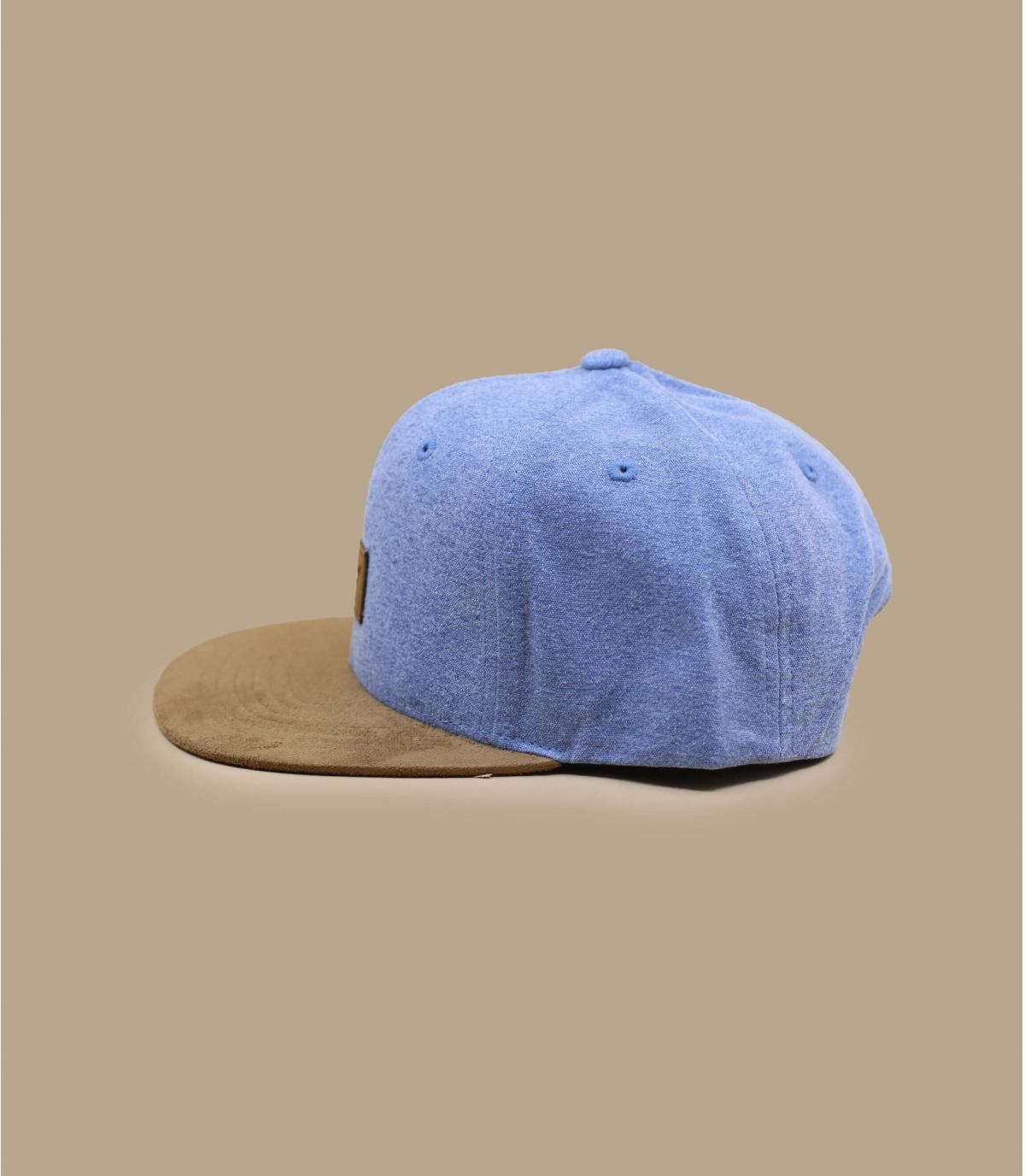 Détails Suede Cap washed blue - image 3