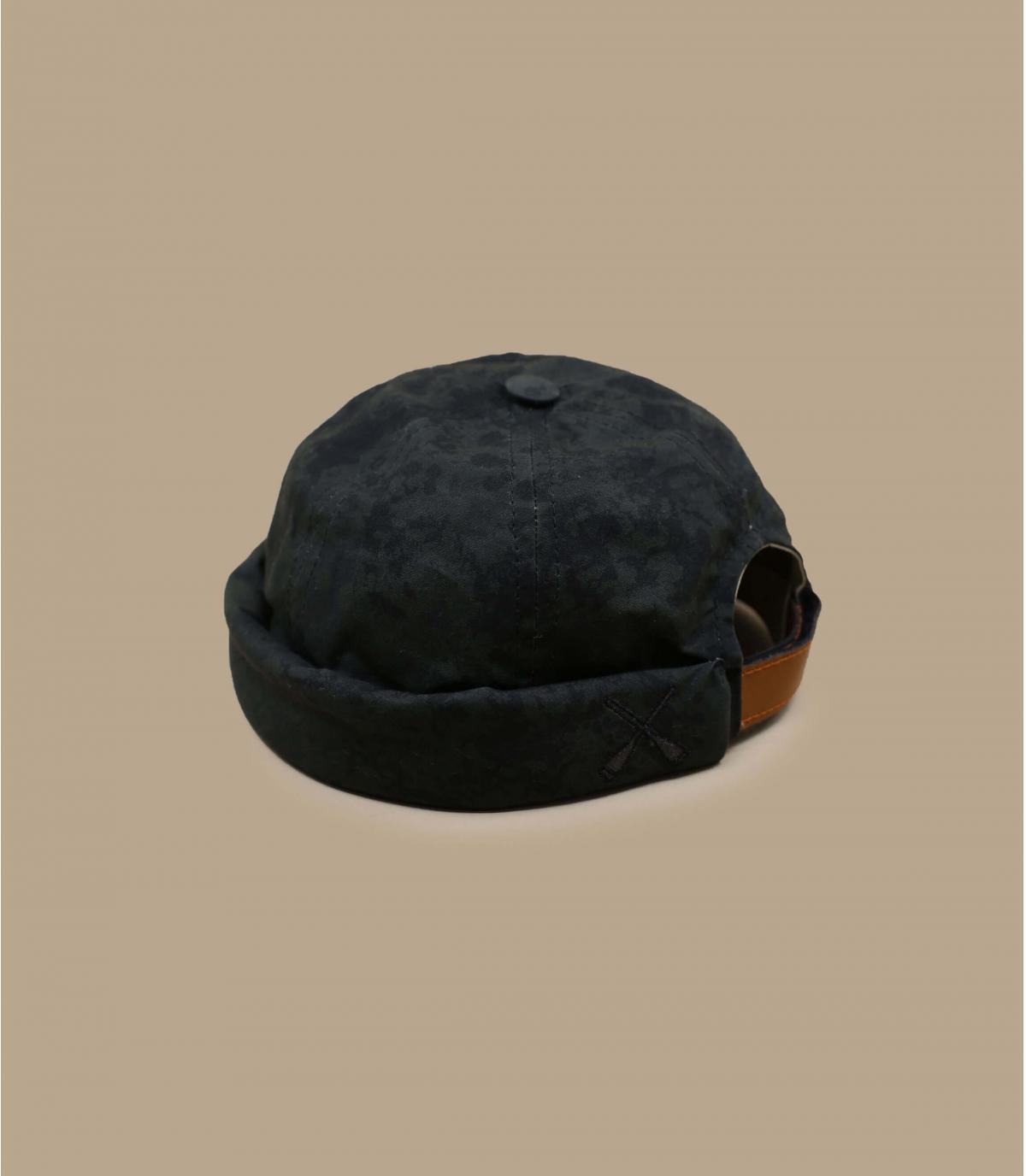 bonnet docker déperlant bleu