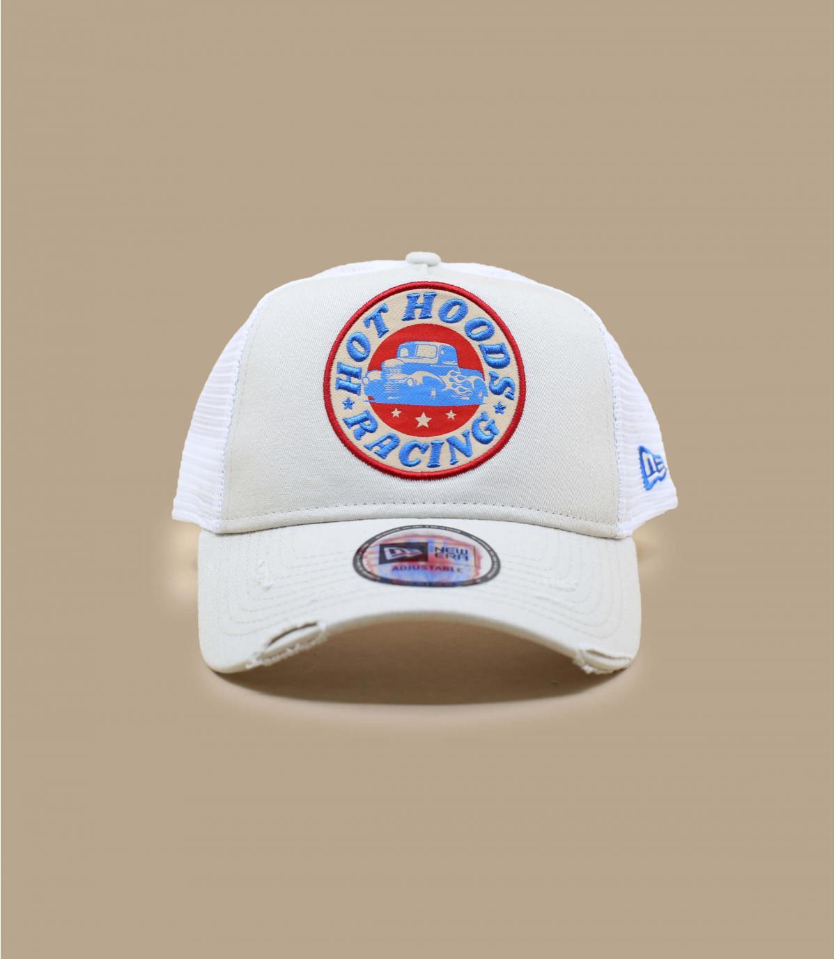 trucker patch beige new era