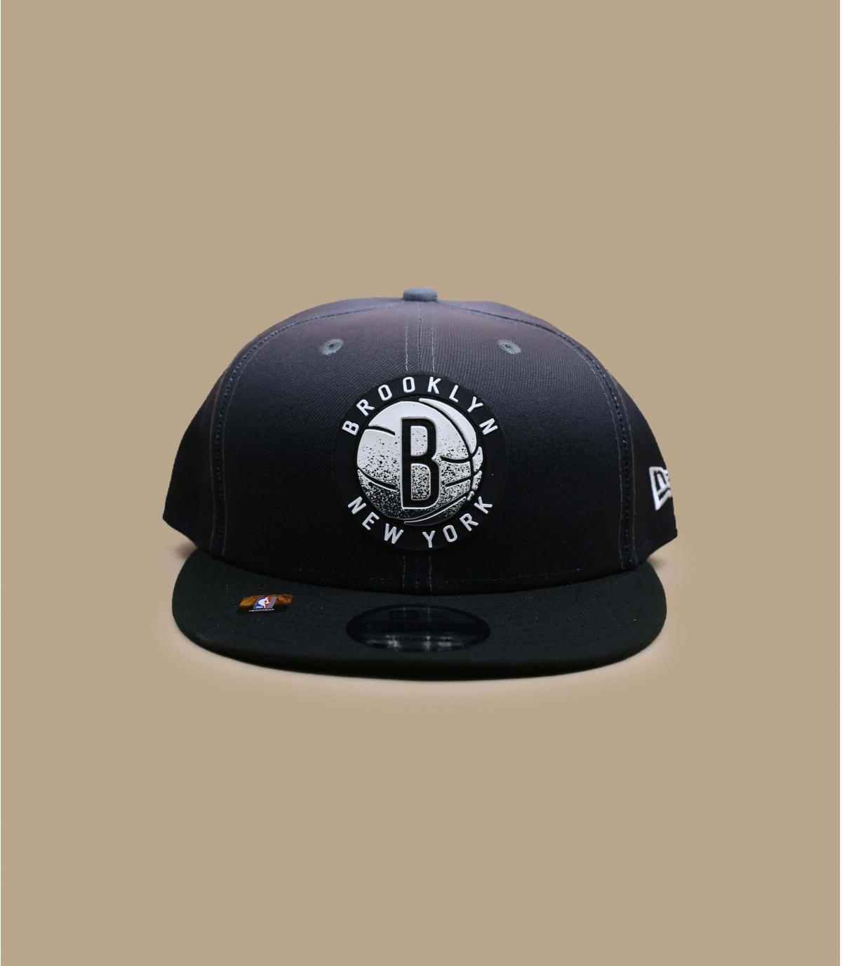 casquette noire Brooklyn Nets