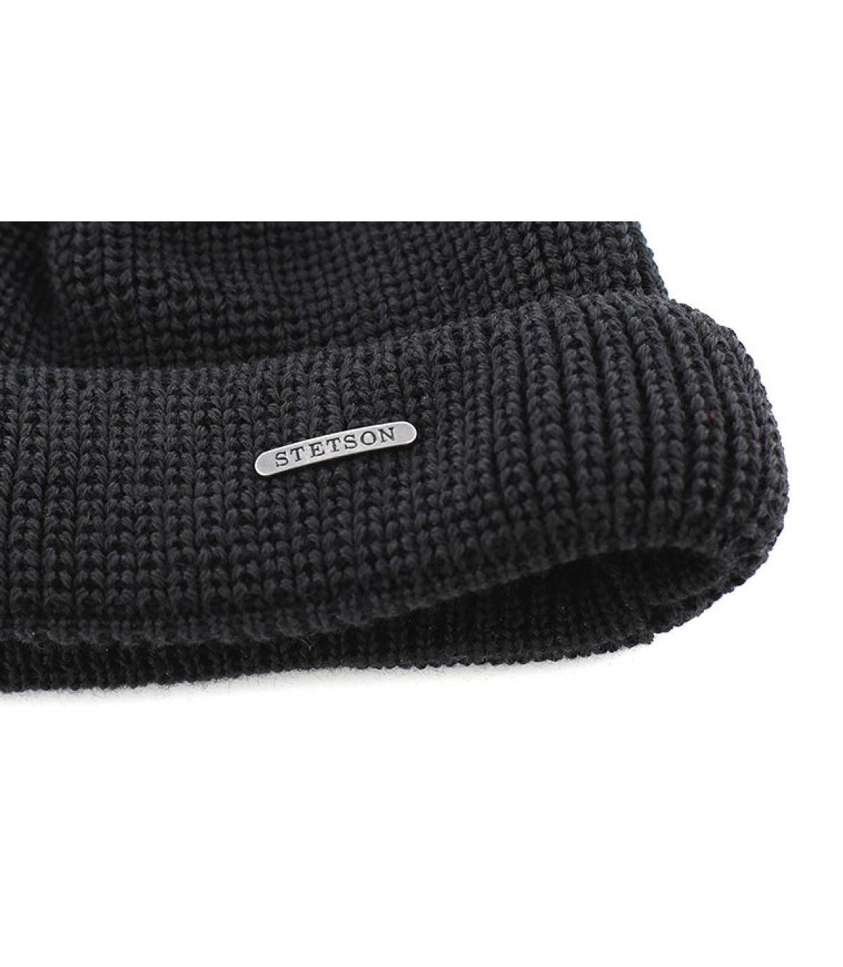 Bonnet Stetson noir