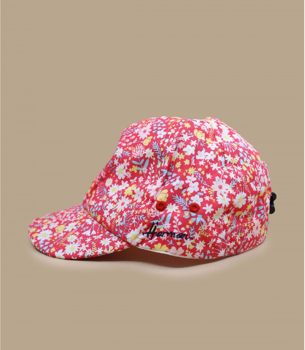 casquette enfant rose