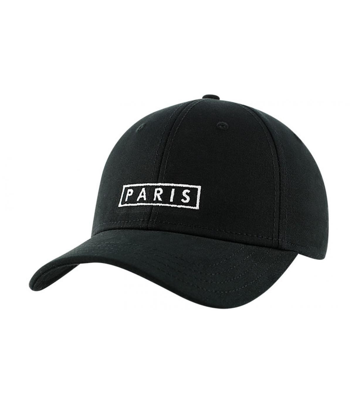 Casquette Paris noire