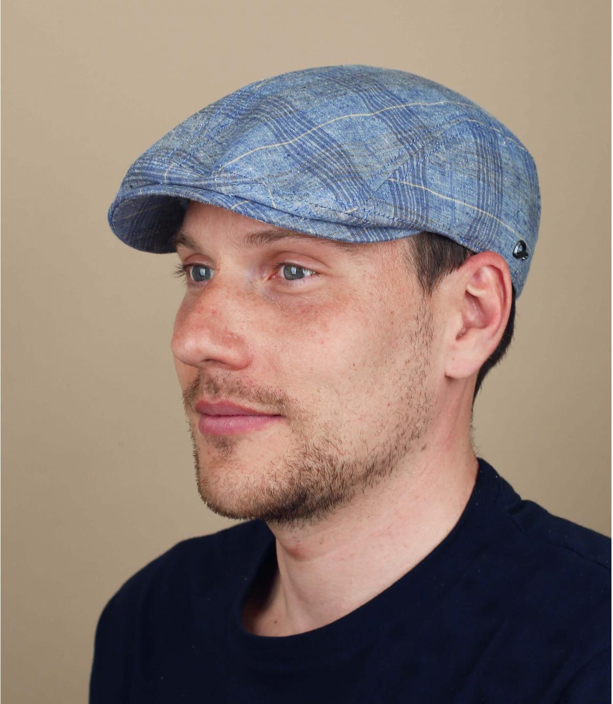 béret coton bleu