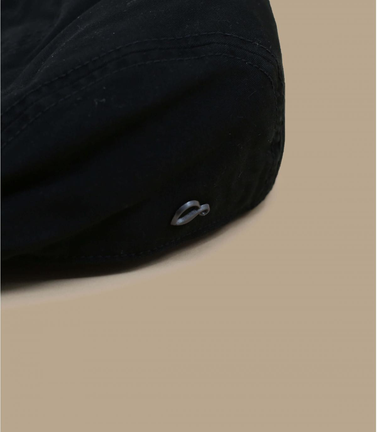 béret coton noir Göttmann