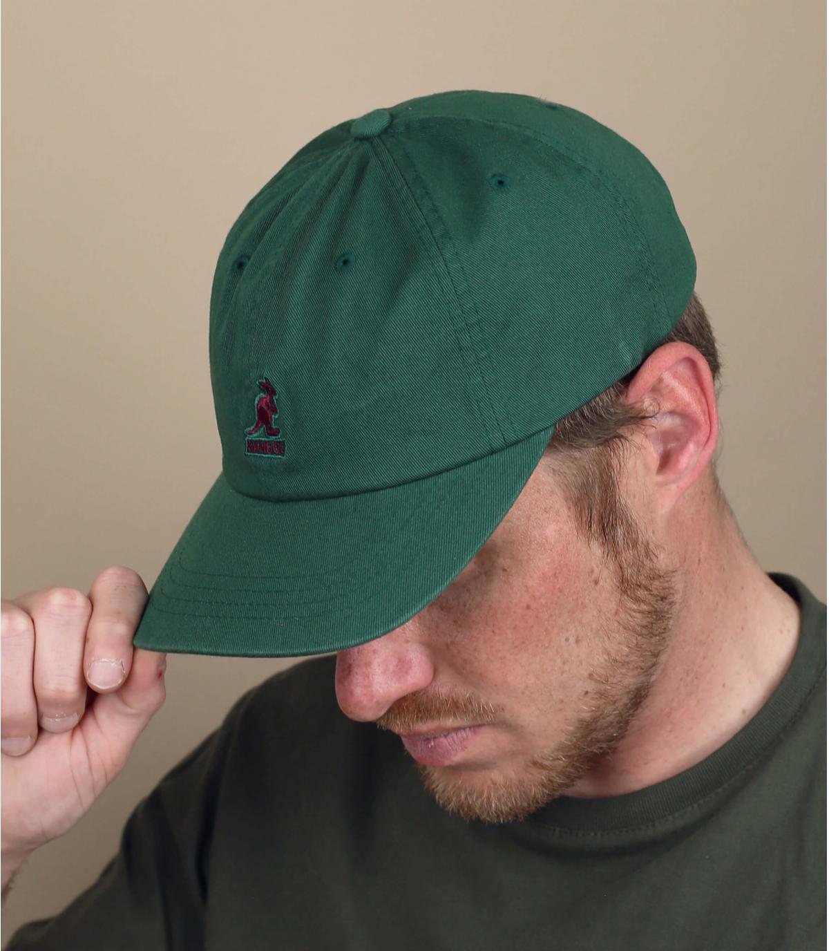 casquette Kangol vert
