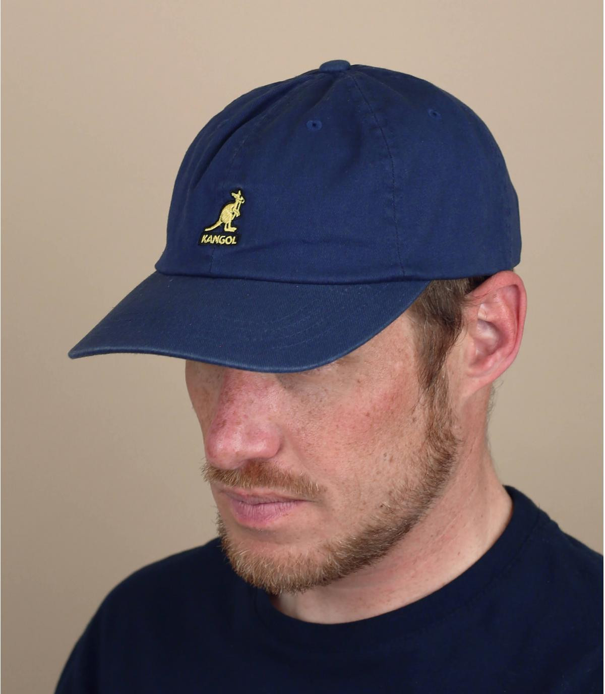 casquette Kangol bleu marine
