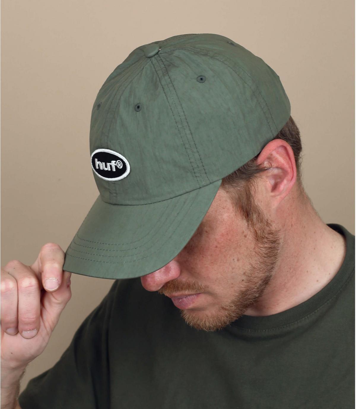casquette Huf vert