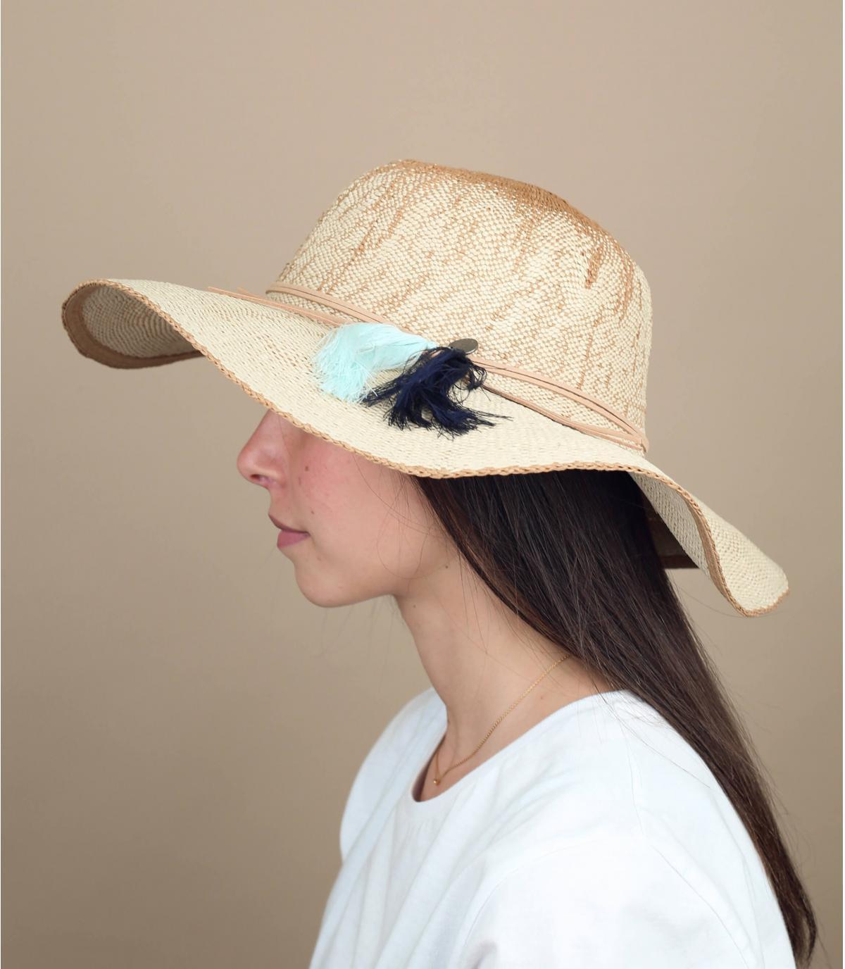 Grand chapeau paille