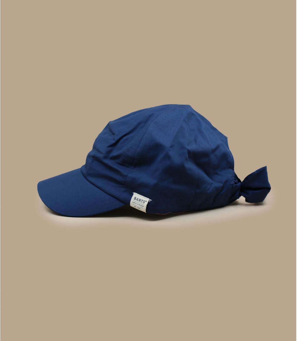 casquette femme bleu marine