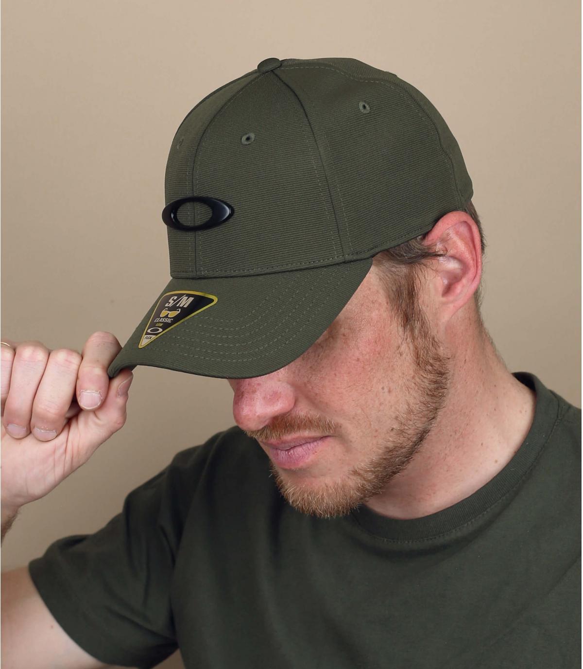 casquette Oakley vert