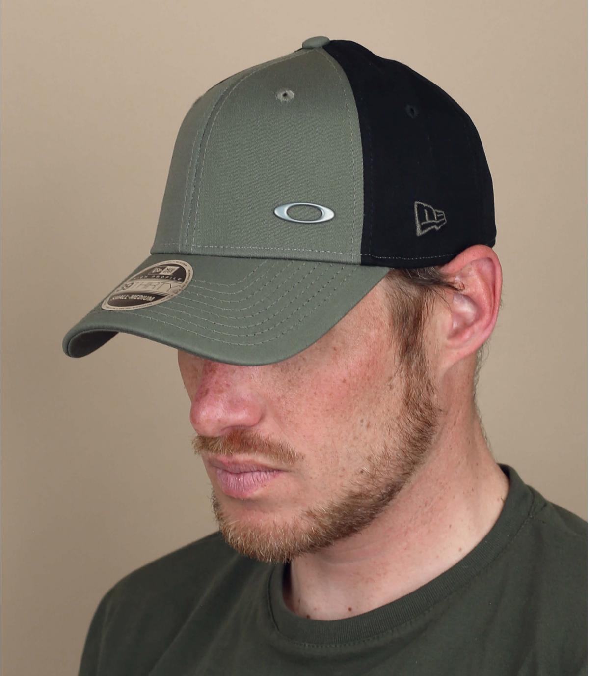 casquette curve Oakley vert