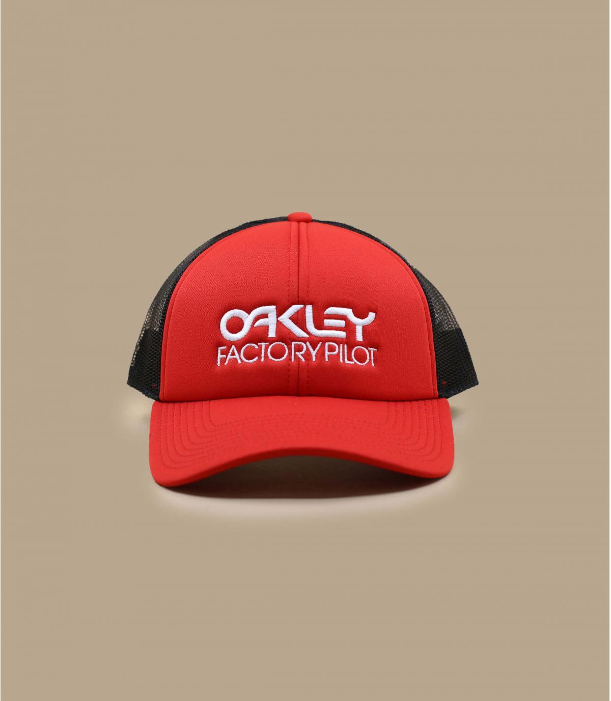 trucker Oakley rouge