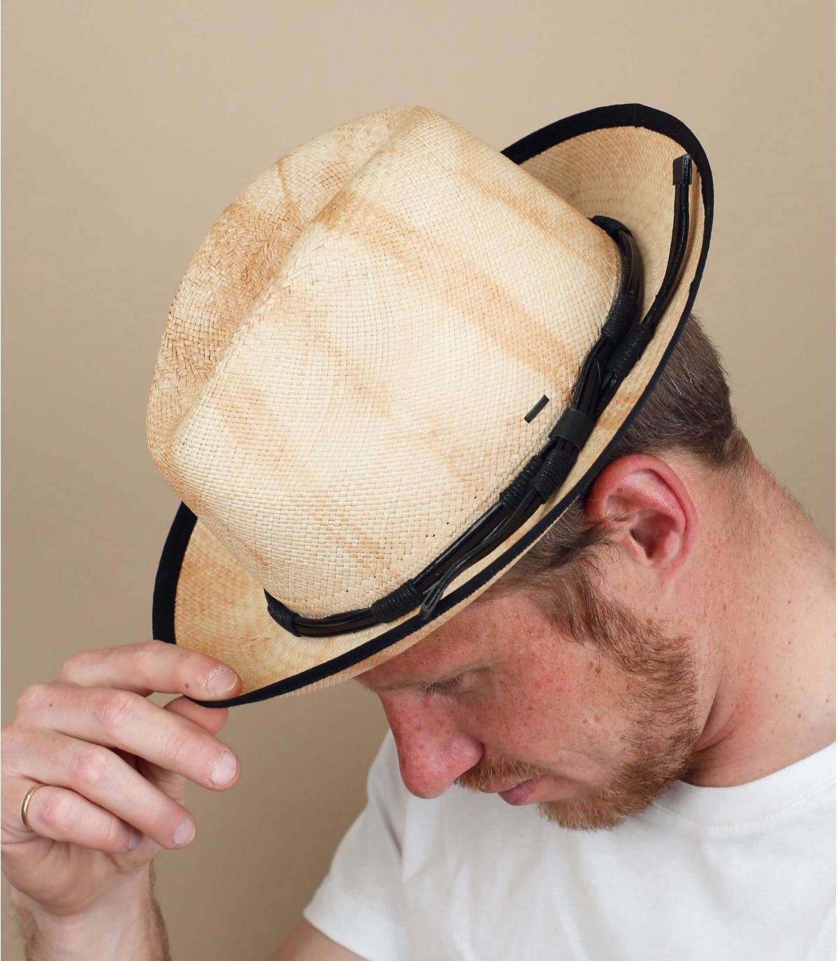 chapeau paille lien Bailey