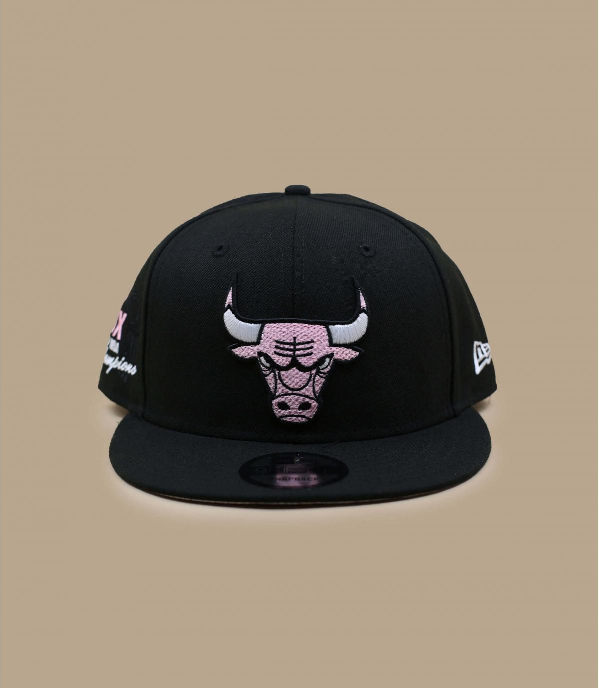 Casquette Bulls bandana rose