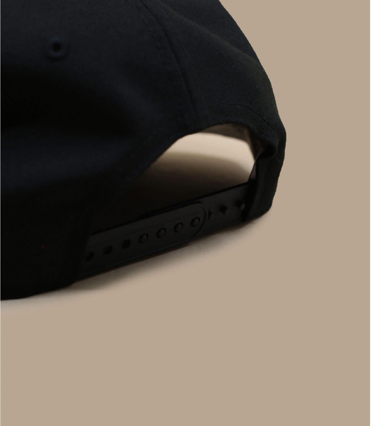 Détails Snapback Quickturn Paisley NY 950 black pink - image 4