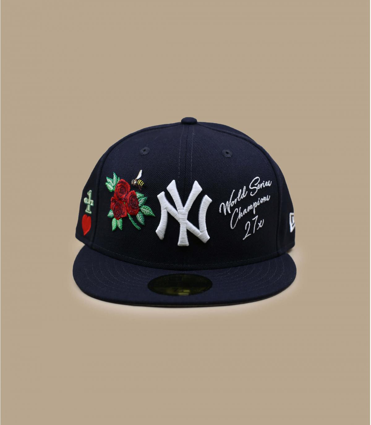 casquette NY patchs