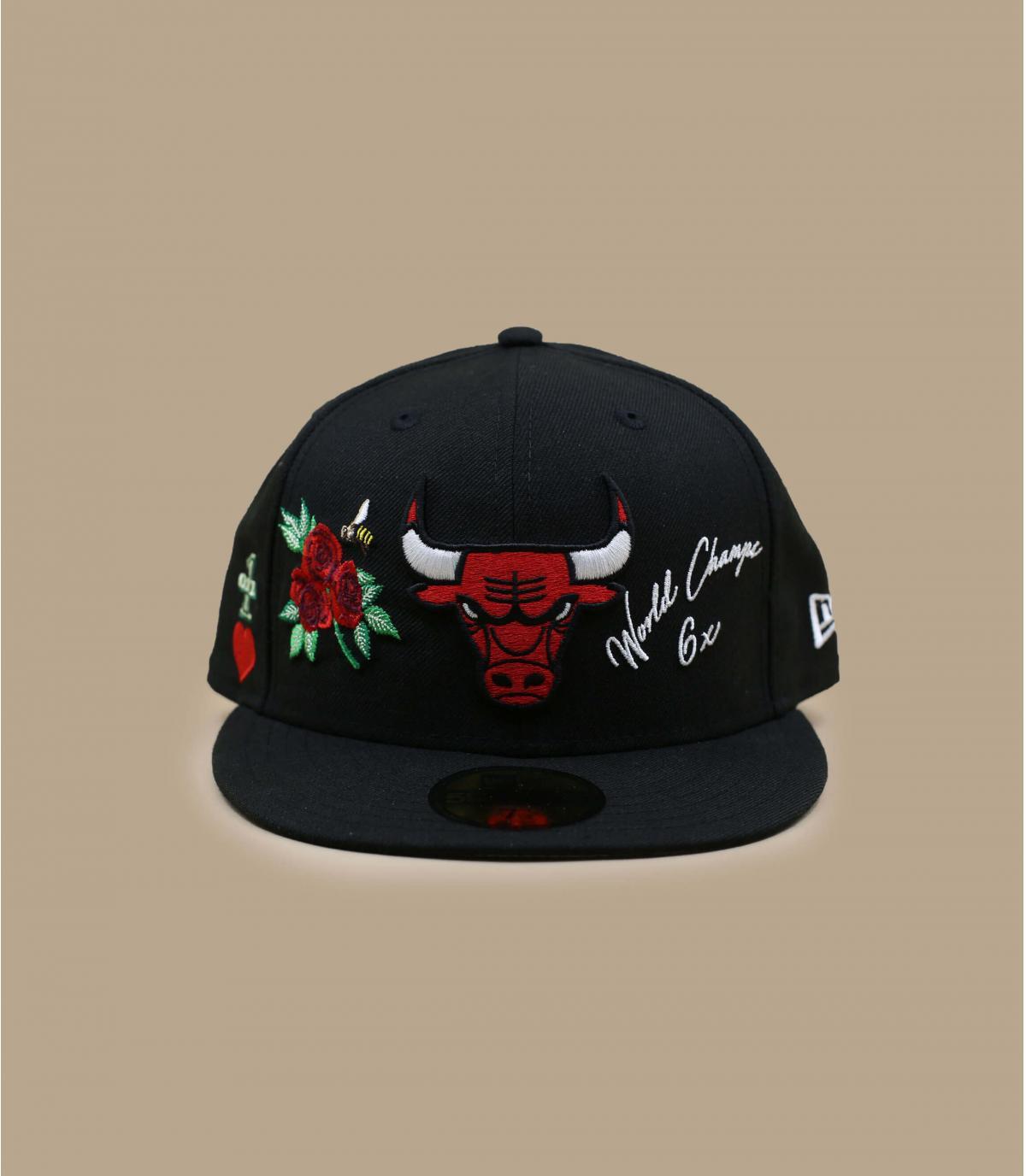 casquette Bulls patchs