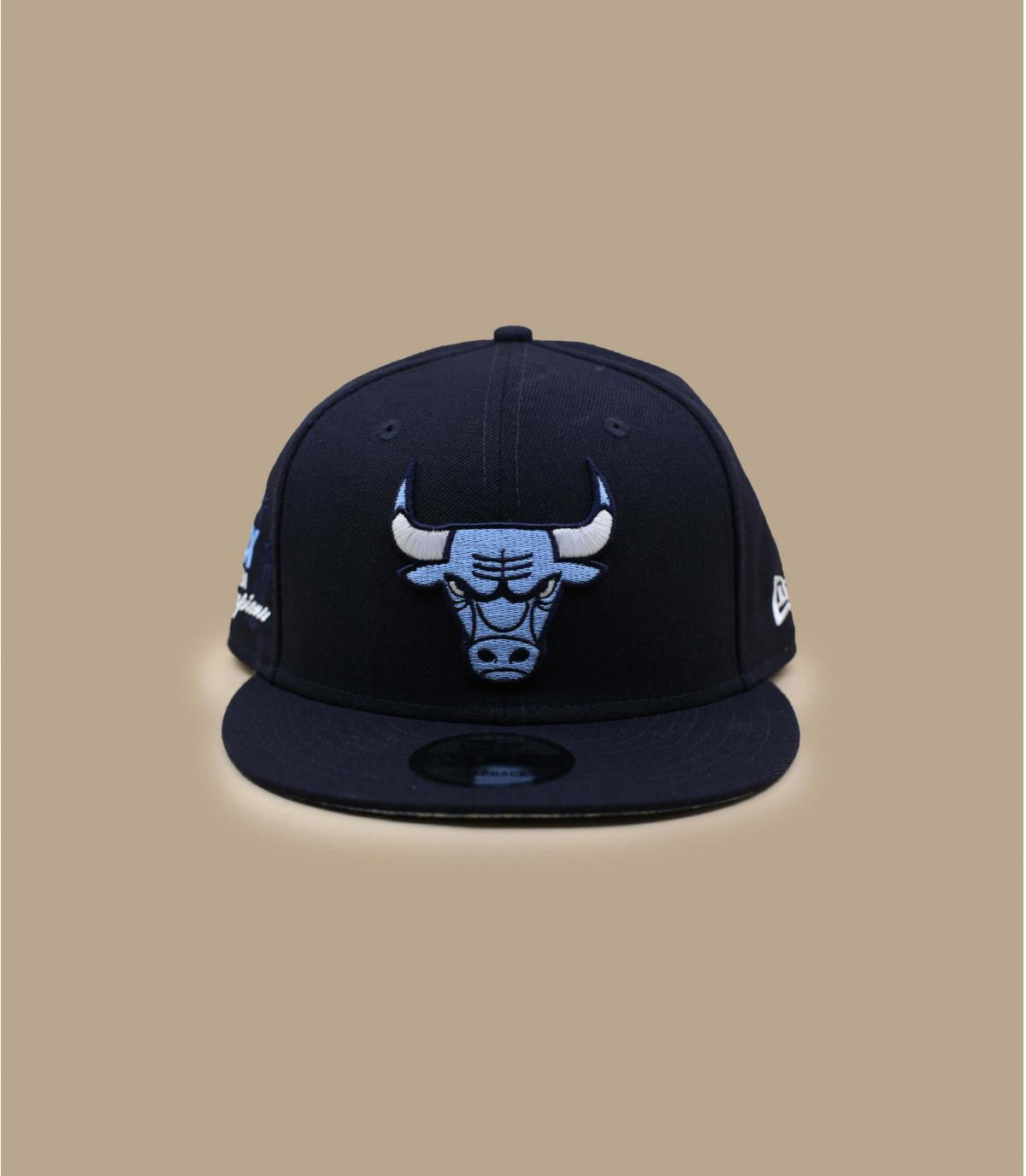 Casquette Chicago Bulls bandana bleu