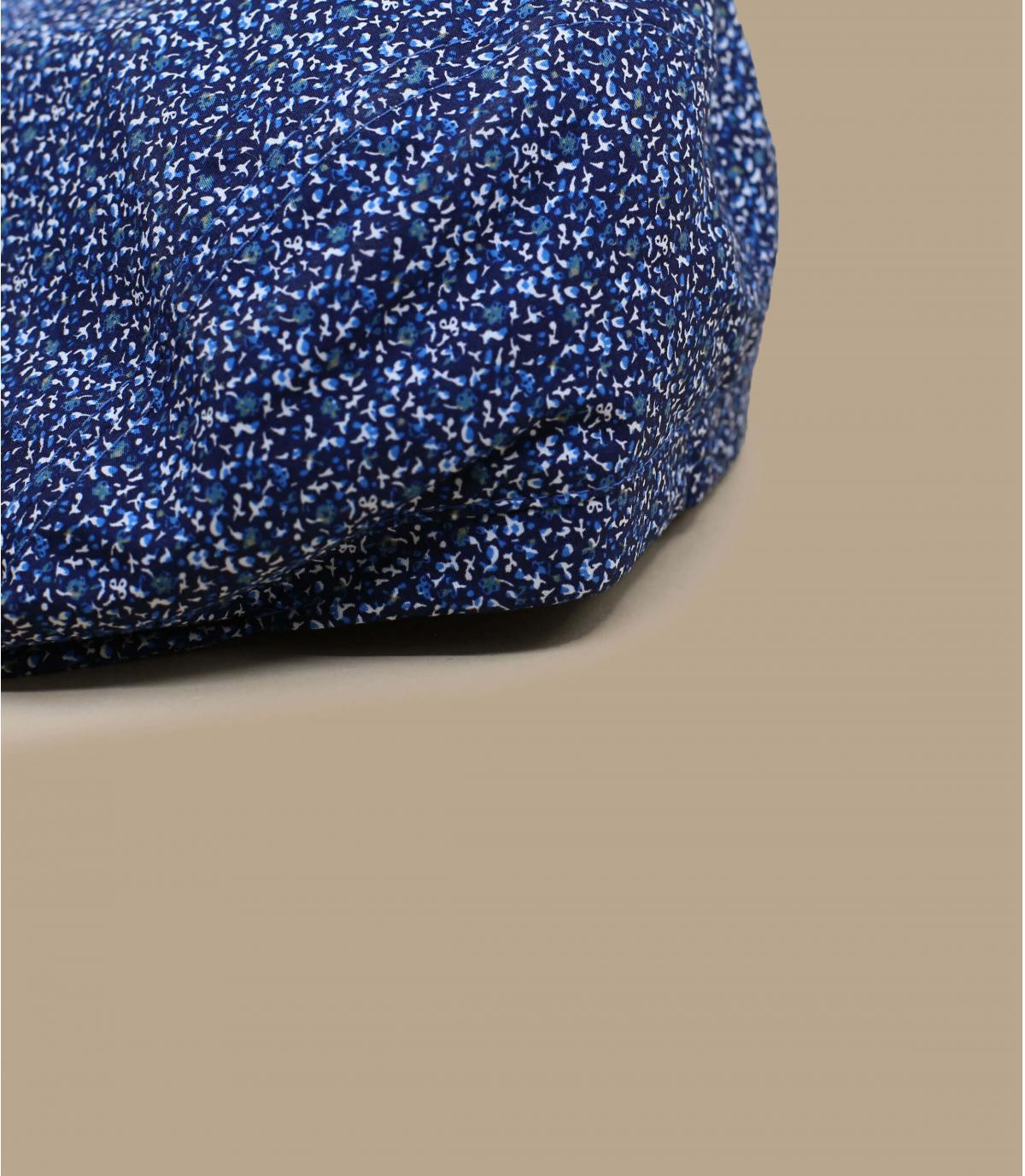 béret bleu chiné