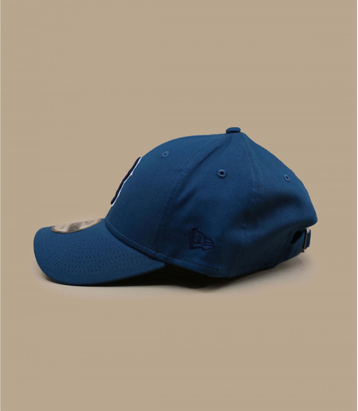 Détails Casquette League Ess Boston 940 cadet blue navy - image 3