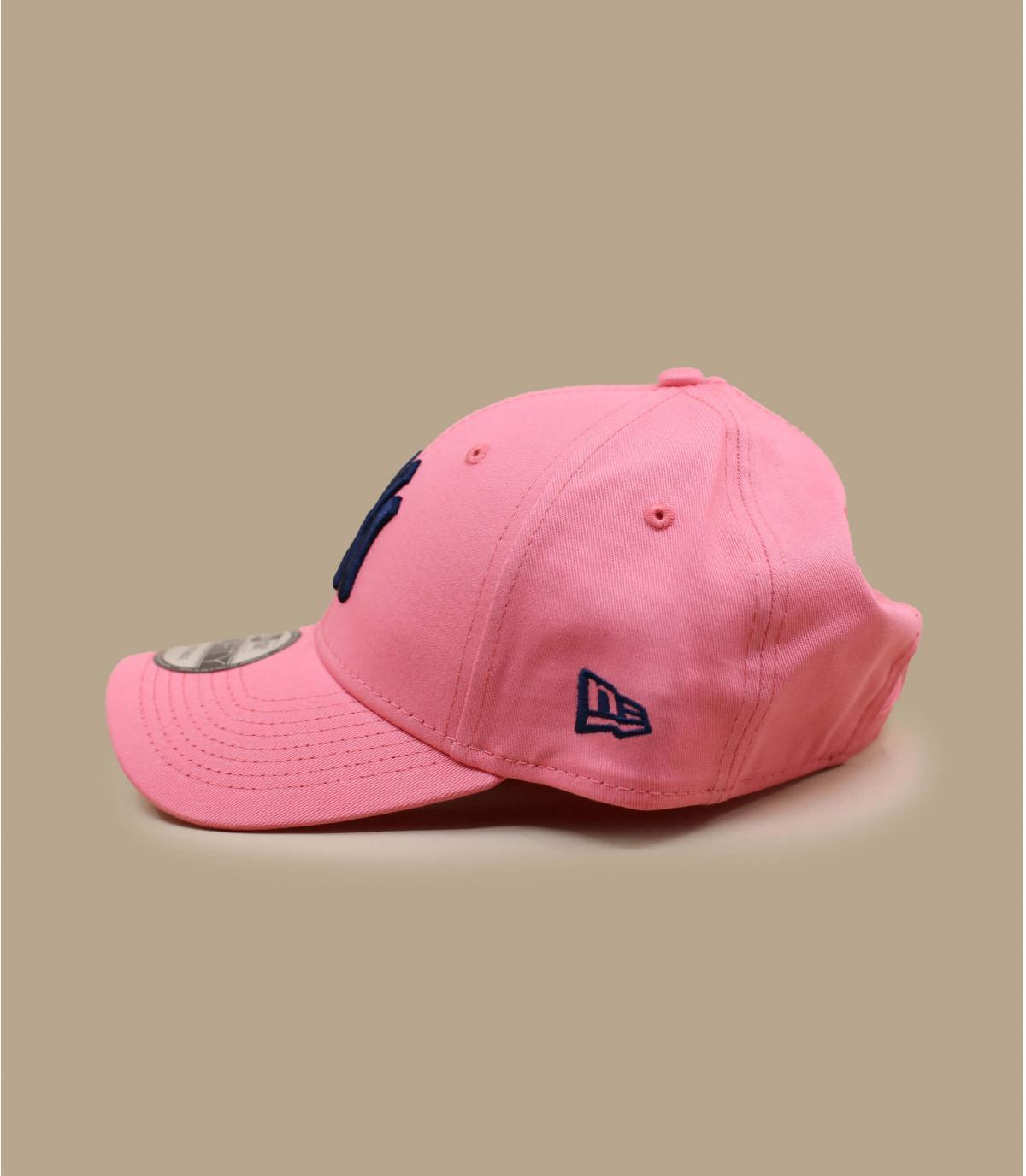 Détails Casquette League Ess NY 940 pink lift navy - image 2