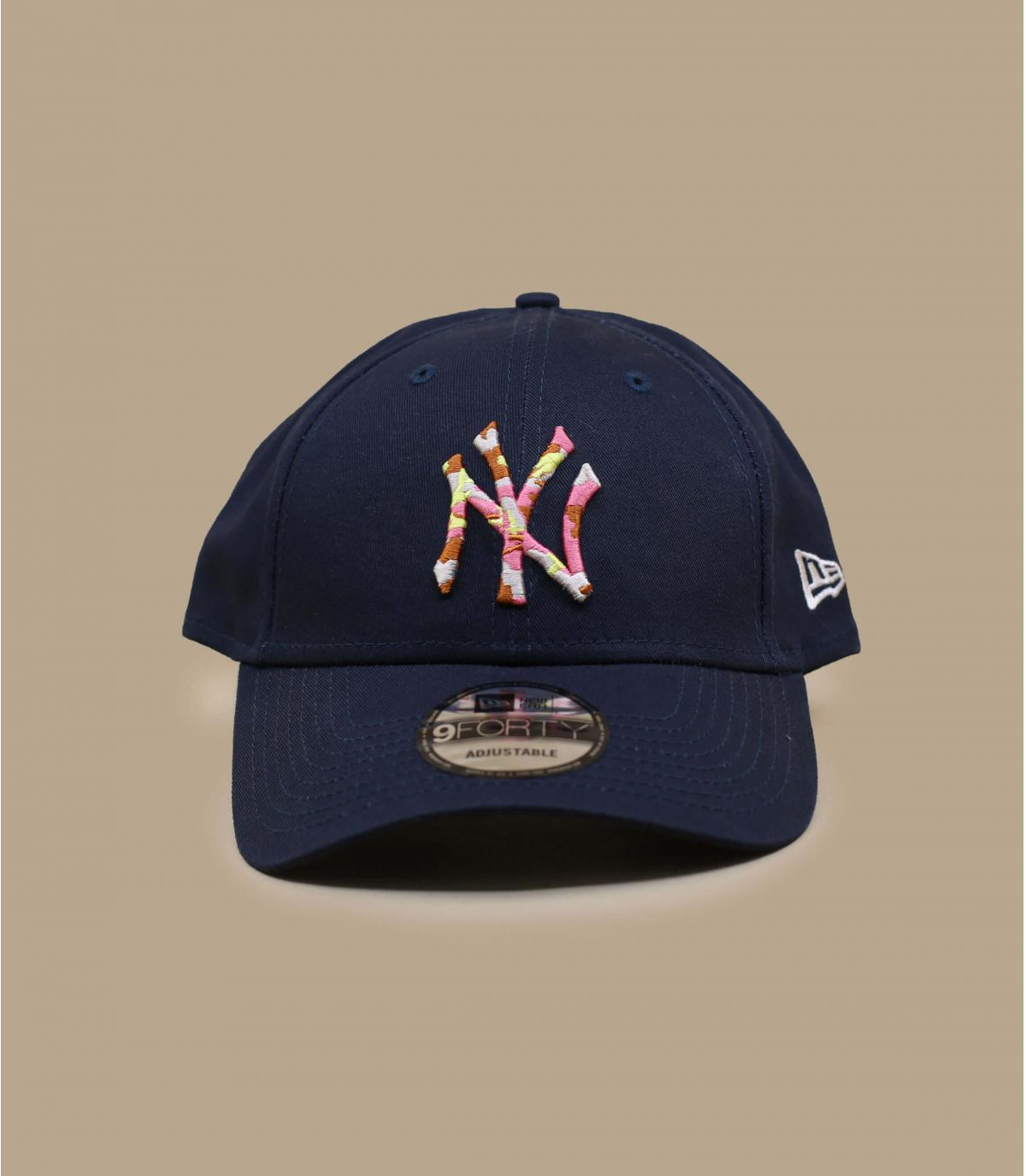 Détails Casquette Infill NY 940 navy - image 2