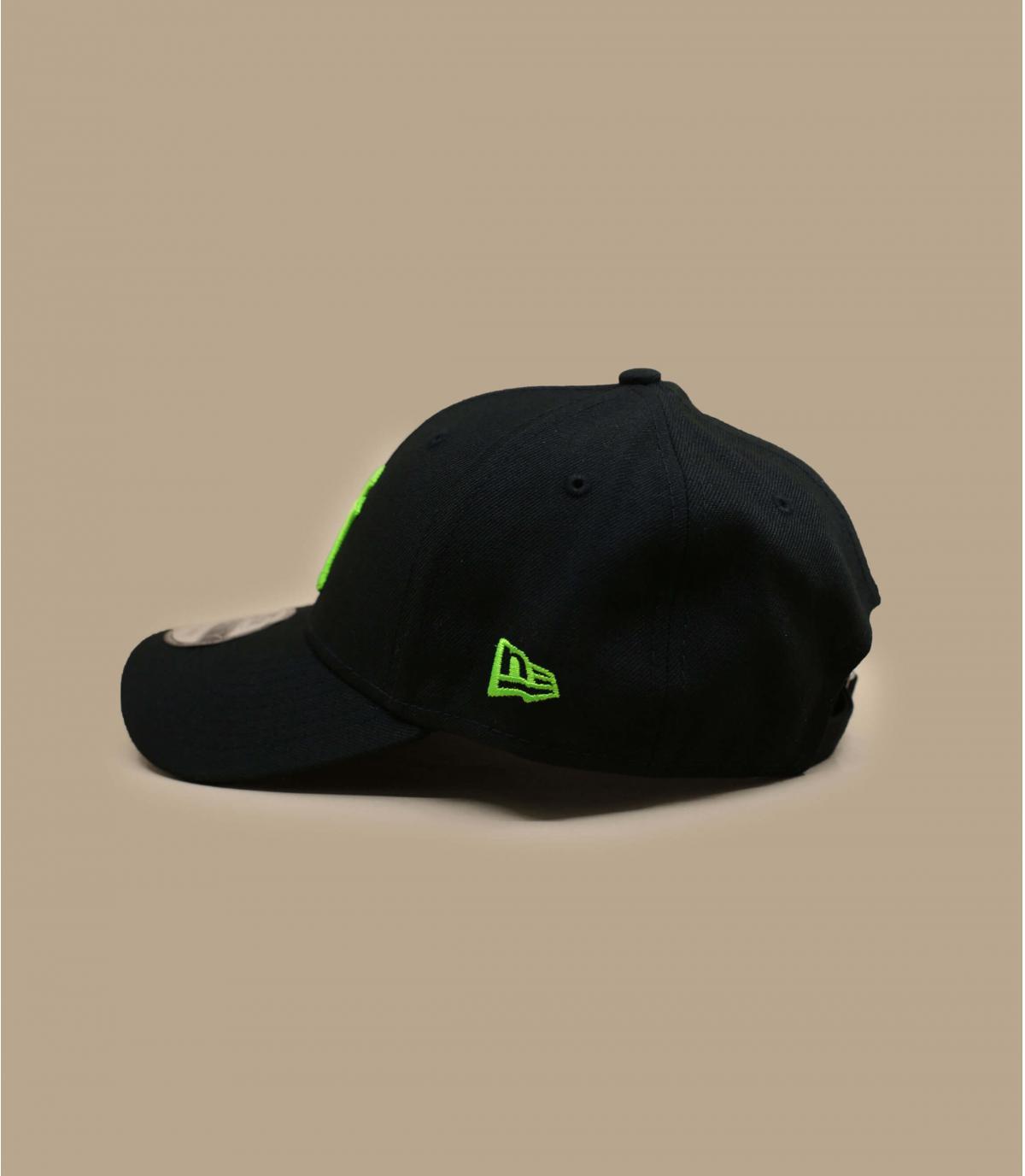 Détails Casquette Neon Pack NY 940 black green - image 3