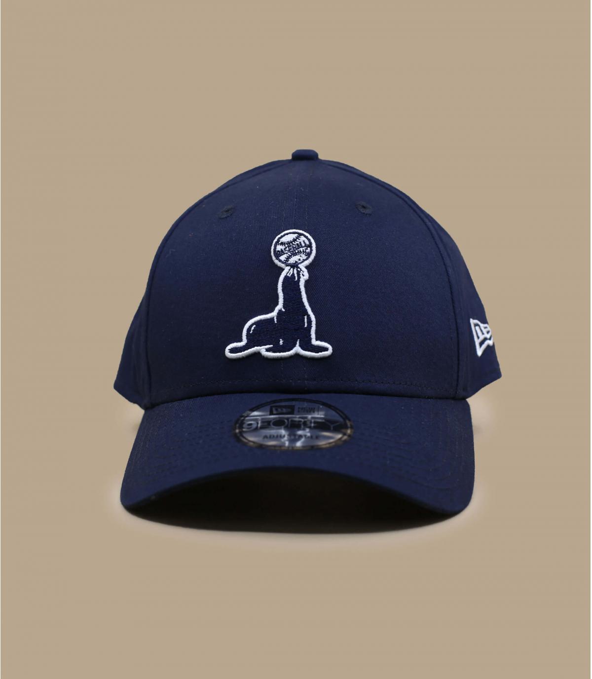 casquette phoque noir