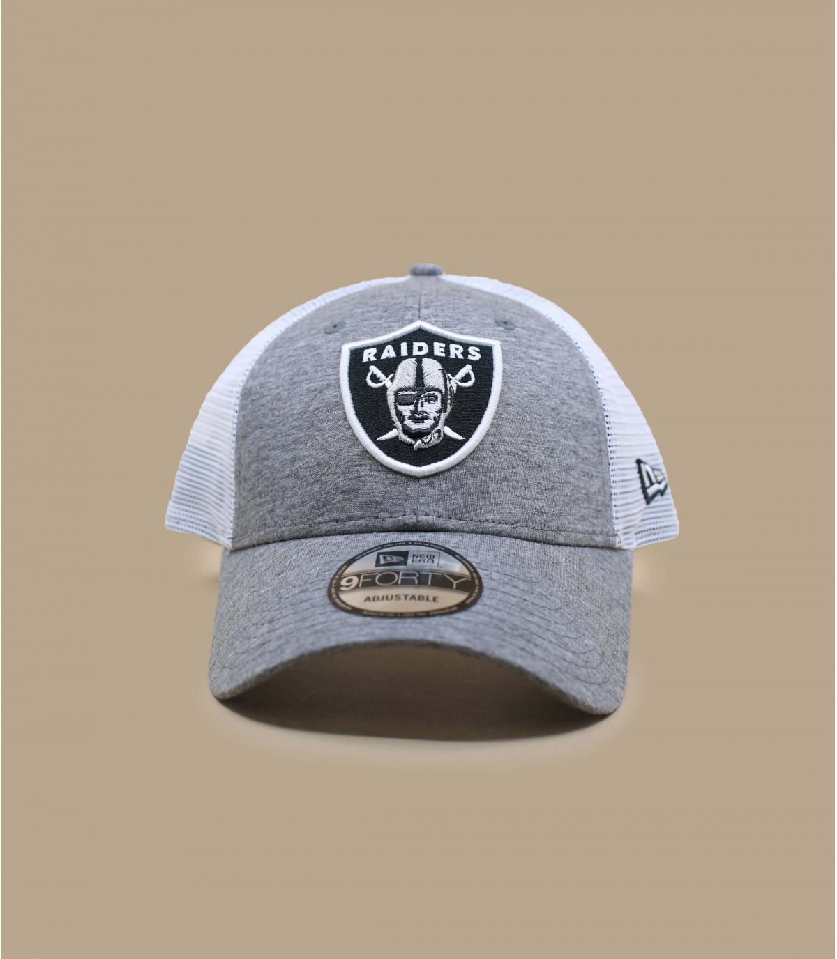 trucker Raiders gris