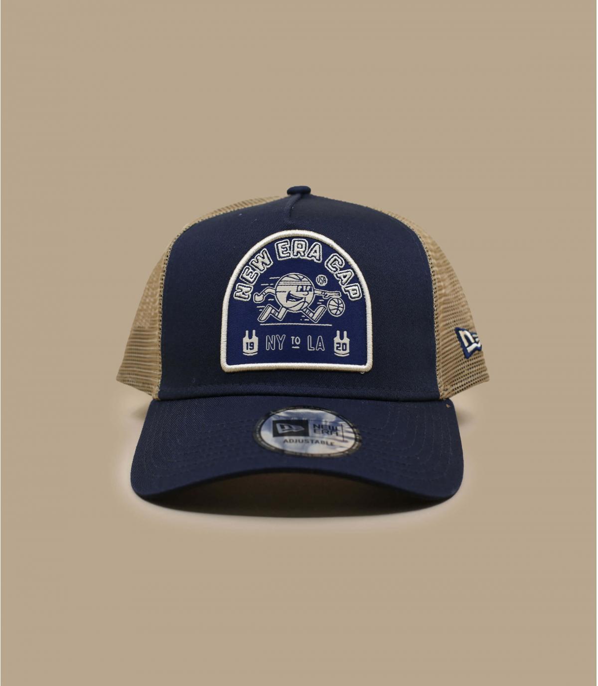 trucker bleu marine New Era