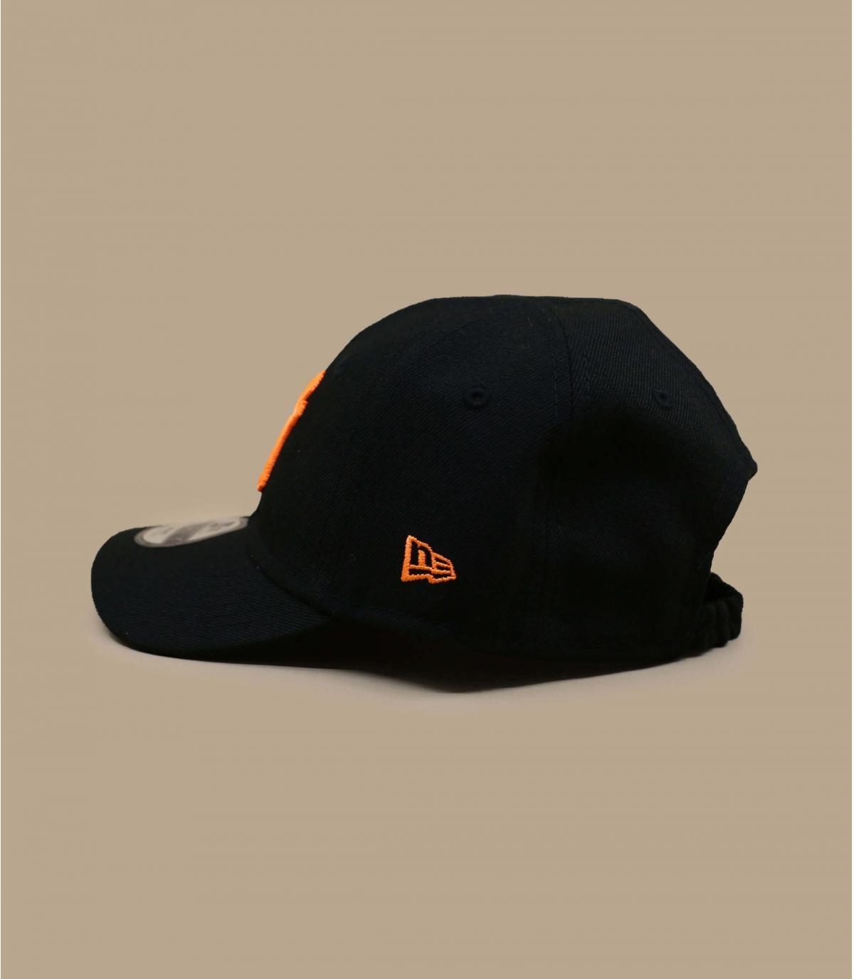 Détails Casquette Baby Neon Pack NY 940 black orange - image 2
