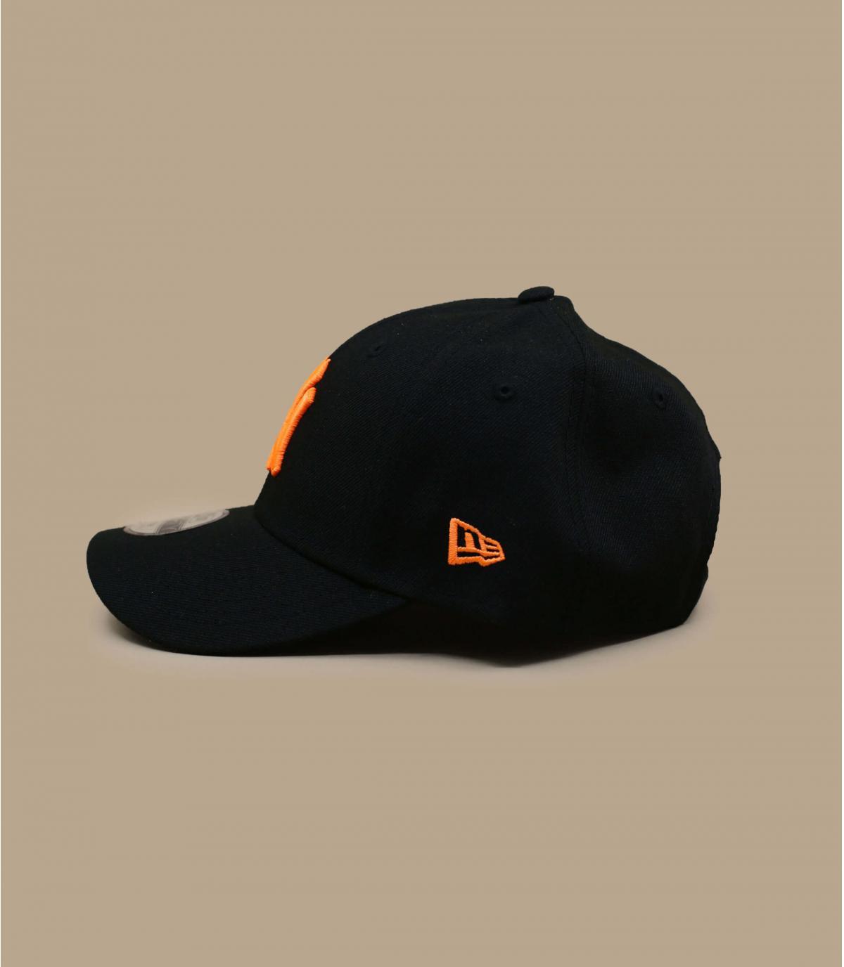 Détails Casquette Kids Neon Pack NY 940 black orange - image 3