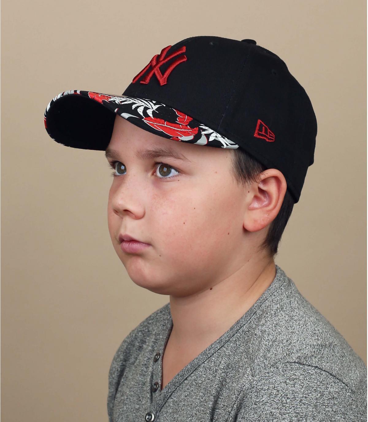 casquette NY enfant motif