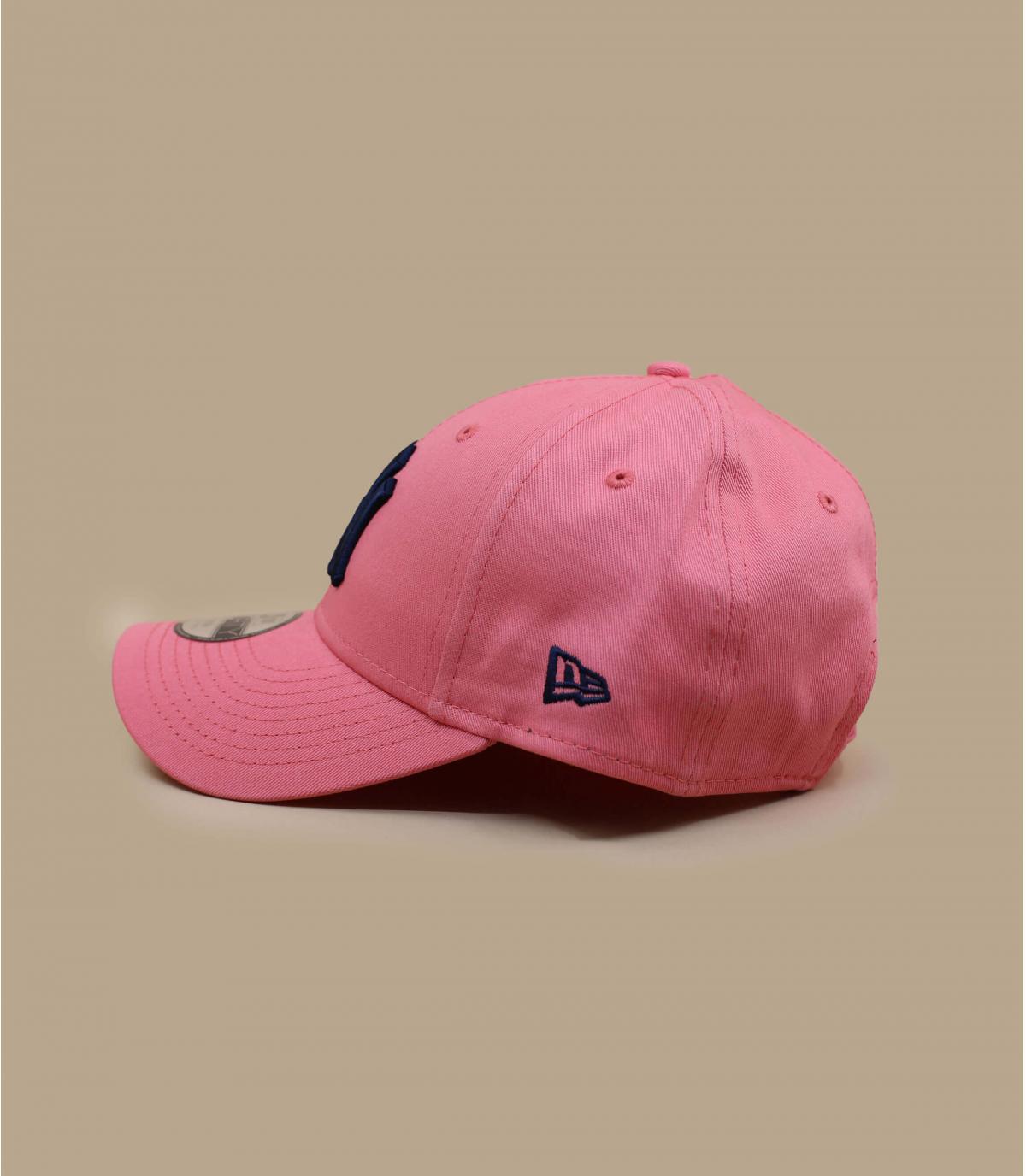 Détails Casquette Kids League Ess NY 940 pink navy - image 2
