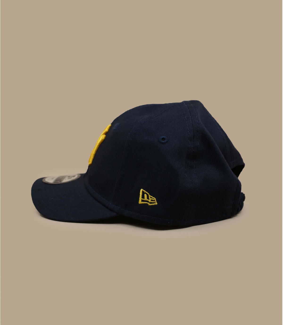 casquette bébé NY bleu marine