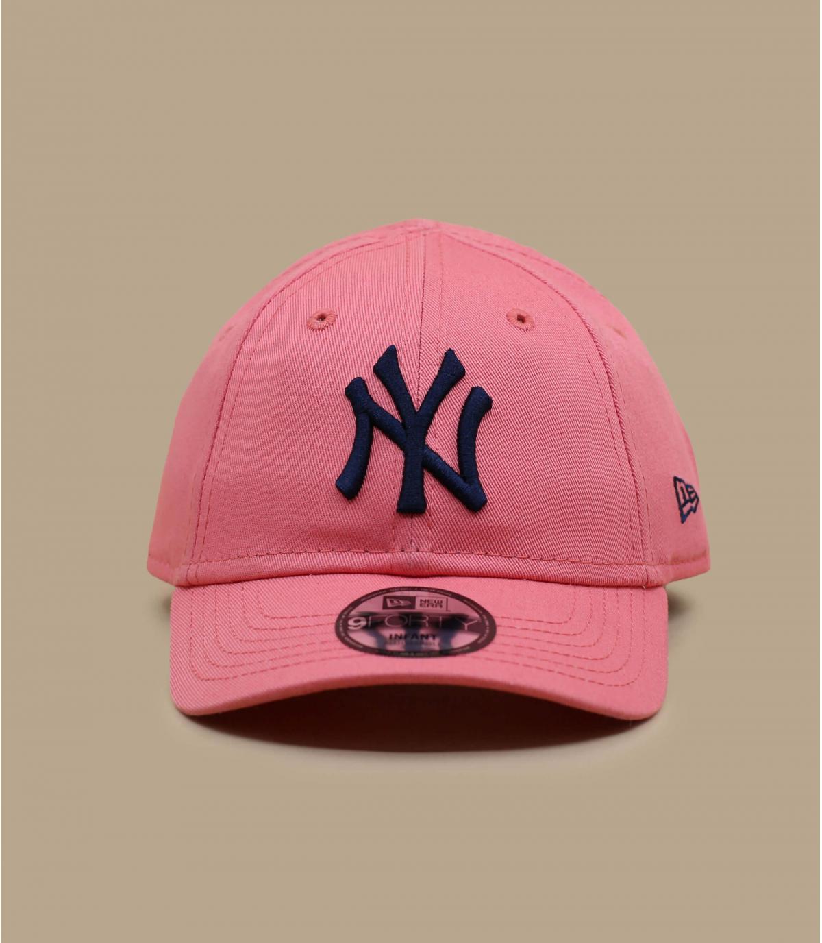 casquette bébé rose