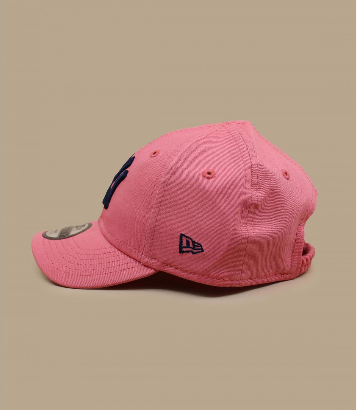 Détails Casquette Baby League Ess NY 940 pink navy - image 2