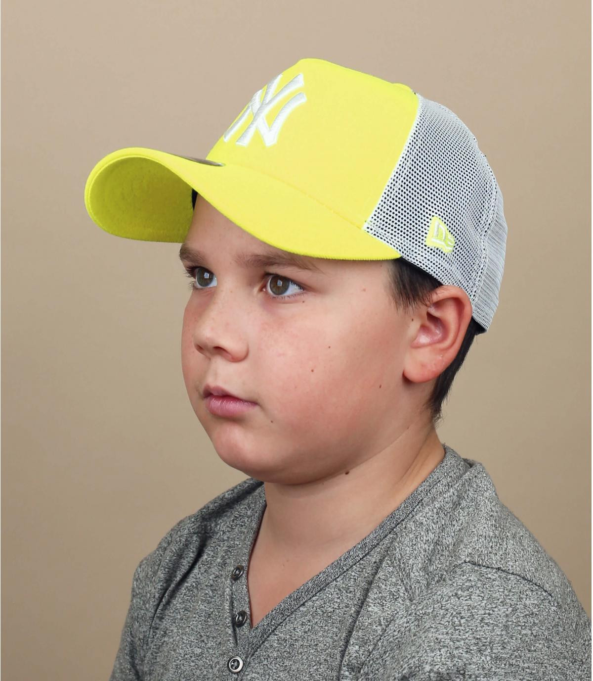 trucker NY jaune enfant
